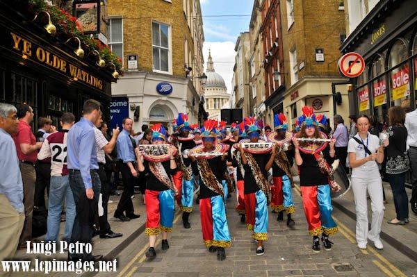UDMSamba City of London Festival 2011