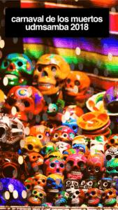 UDM Samba 2018 Carnaval de Los Muertos