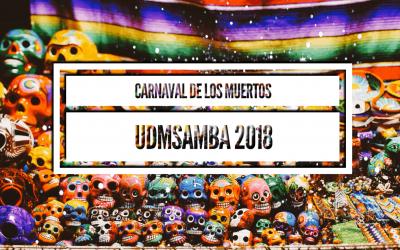 UDM Samba 2018 Theme Carnaval de los Muertos