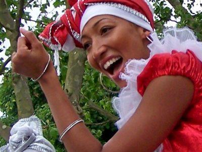 UDMSamba dancer 2013 Primrose Hill Festival