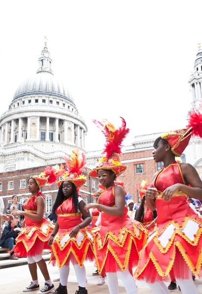 UDMSamba 2014 City of London Festival 2012 photo by Ismini Sotirellou
